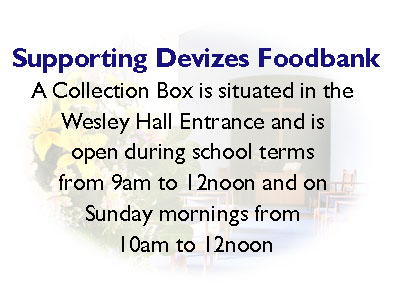 Supporting Devizes Foodbank